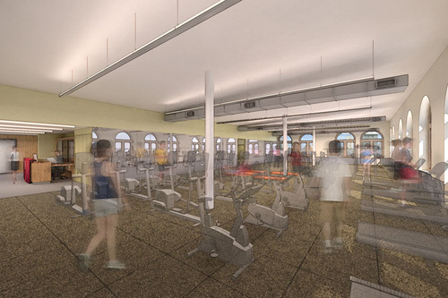 A State-Of-The-Art Gym for the Lower East Side.  (PRNewsFoto/The Educational Alliance)