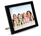 Side perspective of a 15-inch FotoConnect XD Digital Picture Frame (PRNewsFoto/Pix-Star)