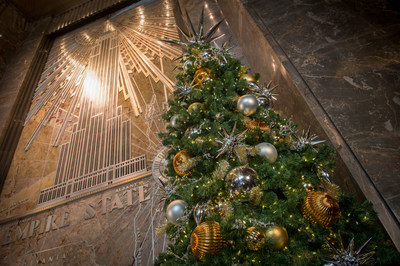 Empire State Building Holiday Decor
