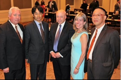Pictured Left to Right: Ed McCain - Manager, Client Relations, ClassNK America; Toru Urushihara, Manager - ClassNK; Tom Allegretti - President & CEO, AWO; Jennifer Carpenter - Executive Vice President & COO, AWO; John Kim - General Manager, ClassNK