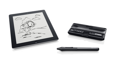 Wacom Delivers Serious Creative Fun to the iPad with new Intuos Creative Stylus.  (PRNewsFoto/Wacom)