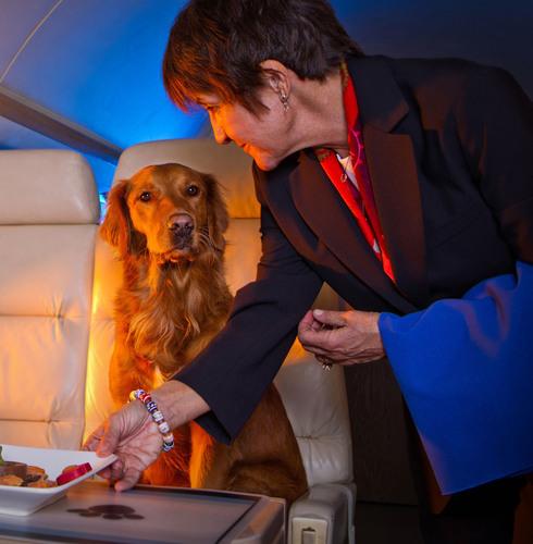 FURst Class Service when the Fur Flies.  (PRNewsFoto/Air Royale International Inc.)