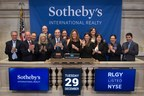 Sotheby's International Realty Affiliates Rings NYSE Closing Bell