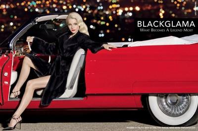 Джессика Стэм олицетворяет гламур современного Голливуда в рекламной кампании Blackglama-2015