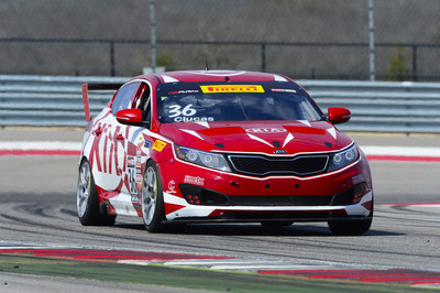Kia Racing charges into The Streets of St. Petersburg for rounds 3 and 4 of Pirelli World Challenge