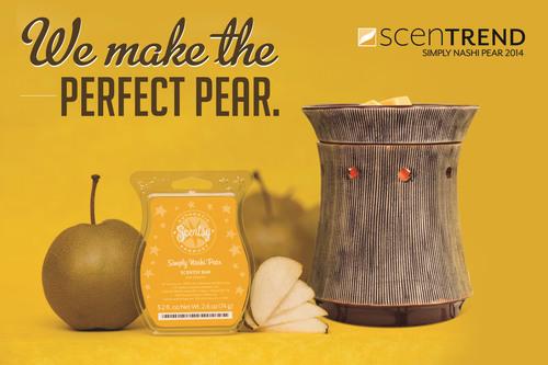 Scentsy Fragrance announces ScenTrend 2014: Simply Nashi Pear. (PRNewsFoto/Scentsy Fragrance) ...