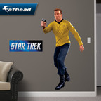 Fathead Launches STAR TREK Collection Featuring Kirk, Spock, Picard and More!  (PRNewsFoto/Fathead LLC)