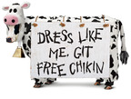 Chick-fil-A Offers FREE Meals to Cow-Dressed Customers on July 8