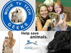 Movie TV Tech Geeks News Teams With North Shore Animal League America to Promote Pet Adoptions in an unprecedented animal welfare program.