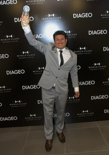 Santos Mercedes Enriquez of Celebrity Cruises has been crowned Diageo Global Travel's best bartender for ...