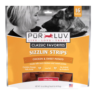 Sometimes pet parents want to share snack time with their pet, but don't want to jeopardize their unique canine diet needs. Pur Luv® Snackwiches™ are a fun, soft and moist treat that provide the perfect way to share a sandwich-eating moment with a pet.