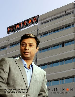 Mohan Kumar Sundaram, Co-Founder and Chairman, Plintron.