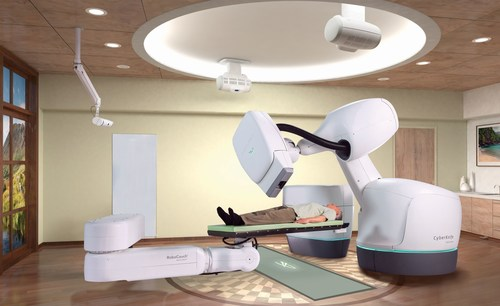 The CyberKnife System (PRNewsFoto/Accuray Incorporated) (PRNewsFoto/Accuray Incorporated)