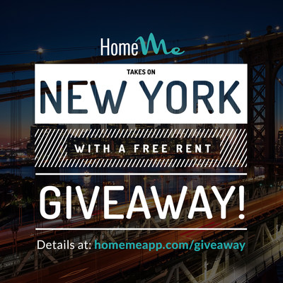 HomeMe is giving renters nationwide a chance to win one month's free rent
