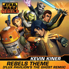 Star Wars Rebels  REBELS THEME (FLUX PAVILION'S THE GHOST REMIX) cover art (PRNewsFoto/Walt Disney Records)