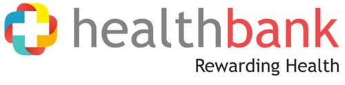 healthbank logo (PRNewsFoto/Noser Engineering AG) (PRNewsFoto/Noser Engineering AG)