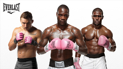 Everlast Goes Pink To Support the Fight Against Breast Cancer.  (PRNewsFoto/Everlast Worldwide Inc.)