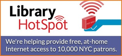 Mobile Beacon and Sprint provide off-site access for patrons throughout NYC's three library systems.