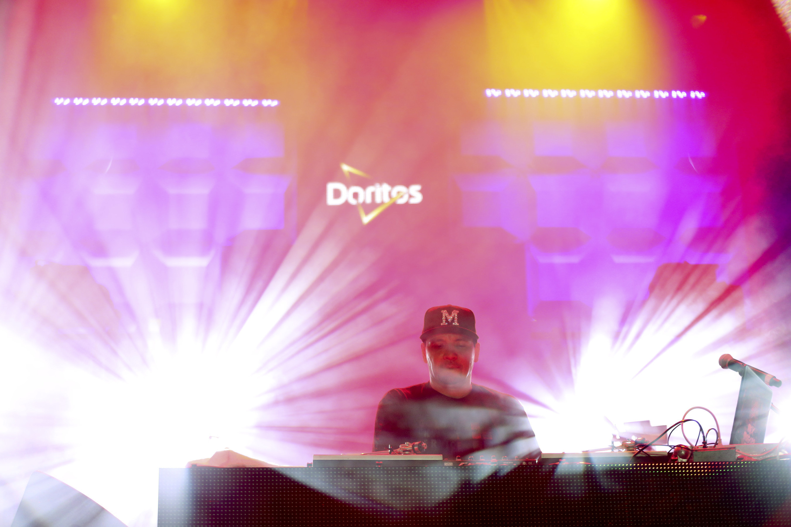 DJ Jazzy Jeff, Mix Master Mike Of Beastie Boys Fame Close Epic Three Nights At The Doritos #MixArcade