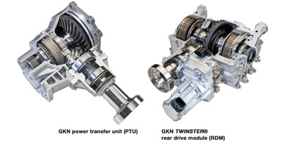All-Wheel Drive products.  (PRNewsFoto/GKN Driveline)