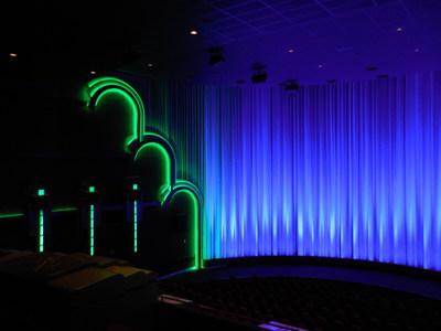 Grand Infinity Auditorium screen at new Warren Broken Arrow Theatre.