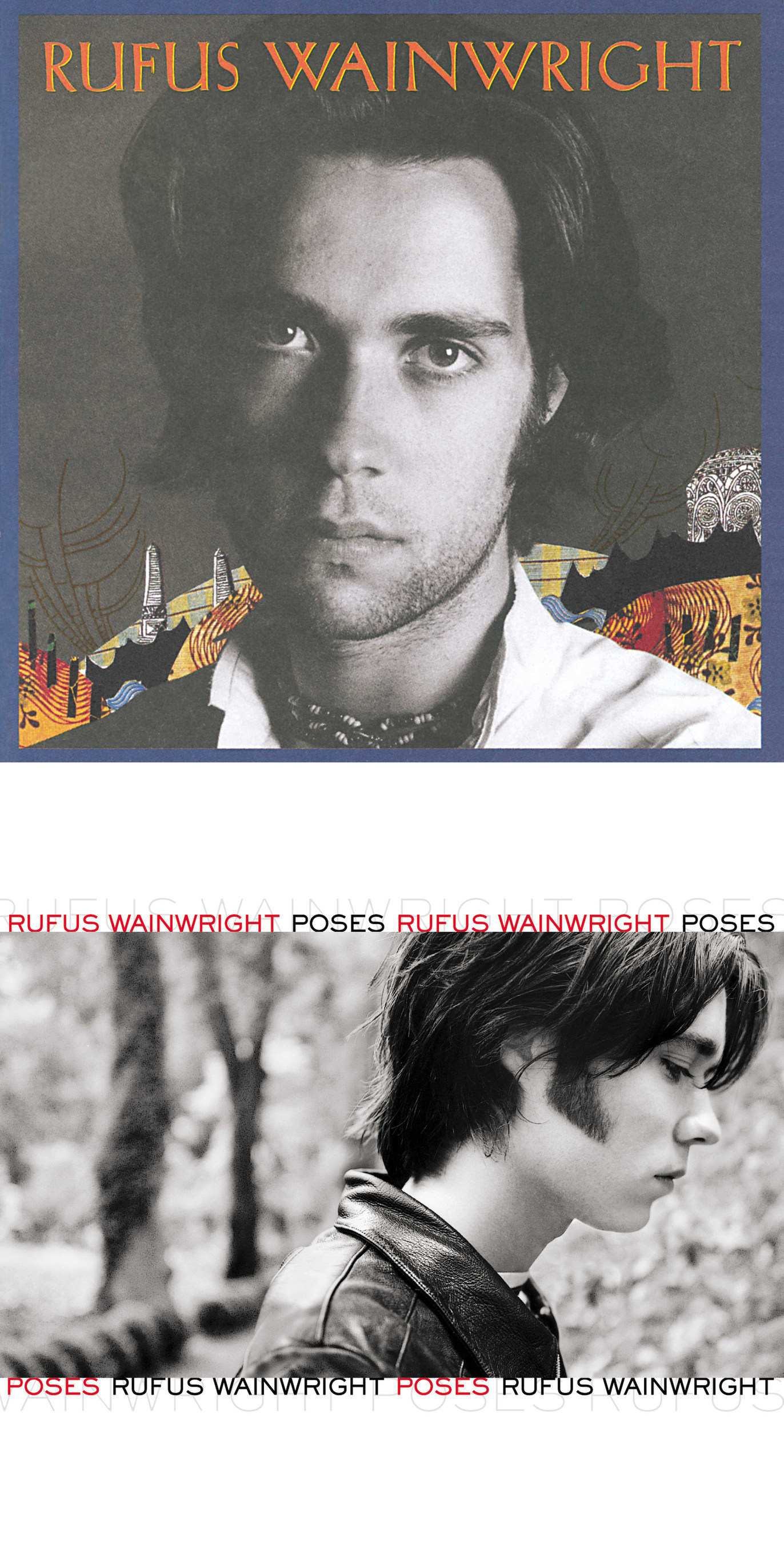 """Rufus Wainwright's acclaimed debut album, 'Rufus Wainwright,' and his sophomore album, 'Poses,' will each be released in 2LP vinyl editions in gatefold packaging on May 6 by Geffen/UMe. Recognized by Rolling Stone as one 1998's best albums, 'Rufus Wainwright' is highly sought after on vinyl, as it has never been widely released on LP. Selected by NME as a Top 10 album of 2001, 'Poses' features """"Cigarettes and Chocolate Milk"""" and Wainwright's stirring cover of Lennon/McCartney's """"Across The Universe."""" The 2LP release of 'Poses' marks the album's vinyl debut worldwide."""