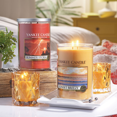 Yankee Candle's five new summer fragrances embrace the beauty and magic of the season.