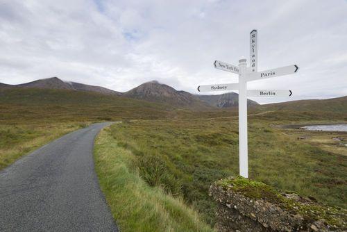 Isle of Skye 'virtually' twins with Skylands, home of Skylanders SWAP Force Skylands Crossroad Sign 2 ...
