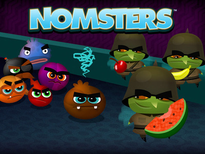 Nomsters image.  (PRNewsFoto/Large Animal Games)