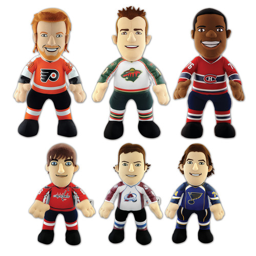 Bleacher Creatures™ Announces the 2012-13 NHL Player Plush Collection Roster