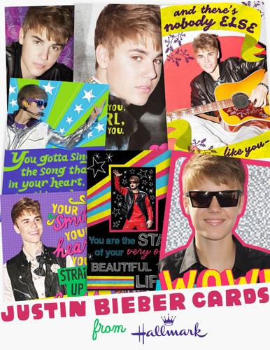 Hallmark Celebrates Justin Biebers Birthday With Greeting Cards For