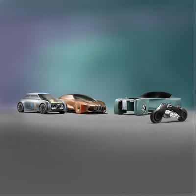 MINI VISION NEXT 100, BMW VISION NEXT 100, Rolls-Royce VISION NEXT 100, BMW Motorrad VISION NEXT 100 (l-r:) (10/2016)