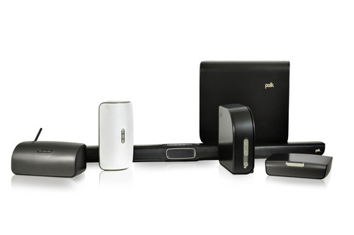 Polk's Omni Wireless Music System will be comprised of the S2 Wireless Speaker, the S2 Rechargeable ...