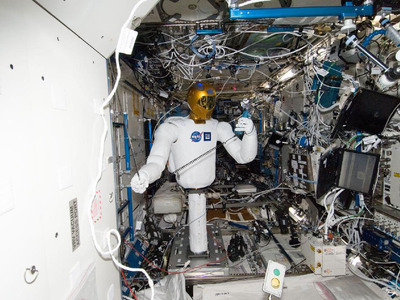 Robonaut 2.  (PRNewsFoto/TopCoder, Inc.)
