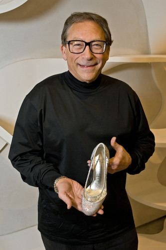 Stuart Weitzman Designs Glass Slipper for New Broadway Production of Cinderella.  (PRNewsFoto/Stuart Weitzman ...
