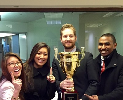 Zerin Business Consulting Earns Campaign Cup Trophy