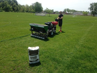 Sodexo turf management team at Lake Forest Academy in Illionois restores playing fields, allowing the school to host practice sessions for athlets of Copa America and the U.S. Women's National Soccer Teams earlier this summer.