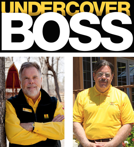 CBS's 'Undercover Boss' to Feature KOA CEO Jim Rogers, Friday, Jan. 11