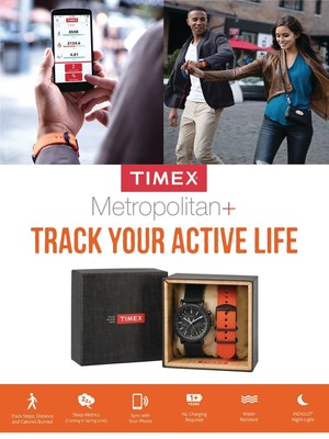 New Timex Metropolitan+ Activity Tracking Watch Now Available for Purchase on Timex.com