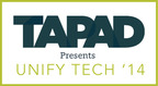 Tapad Unify Tech '14, the definitive cross-screen event, takes place in NYC on April 29, 2014.  (PRNewsFoto/Tapad)
