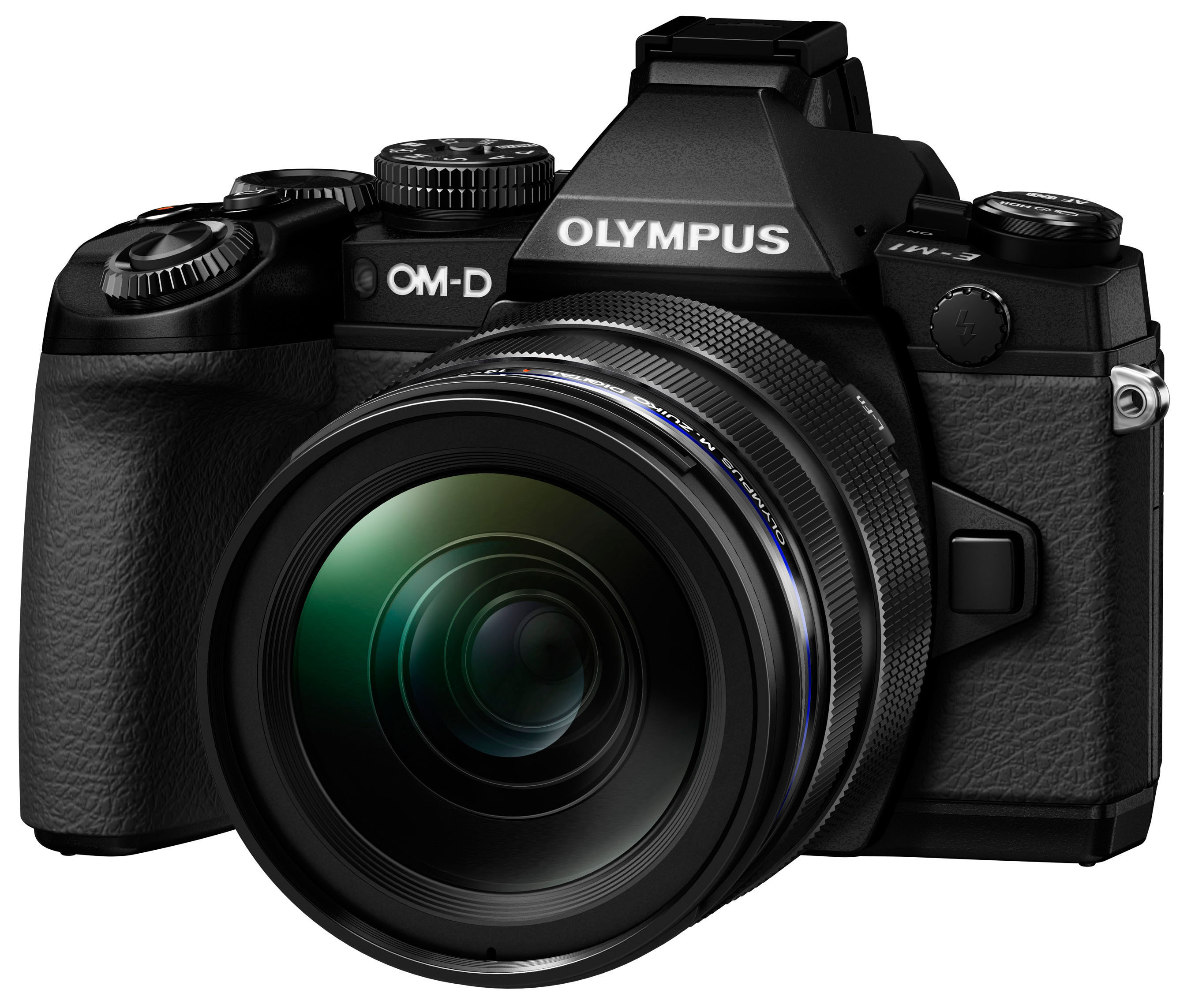 Olympus introduces the OM-D E-M1(R), its new premium flagship camera and worthy successor to its E-5 DSLR. As powerful as a pro DSLR, the E-M1 is a compact system camera with a revolutionary design made for advanced photographers who demand incredible speed and image quality in a lightweight go-anywhere durable body. (PRNewsFoto/Olympus Imaging America Inc.) (PRNewsFoto/OLYMPUS IMAGING AMERICA INC.)