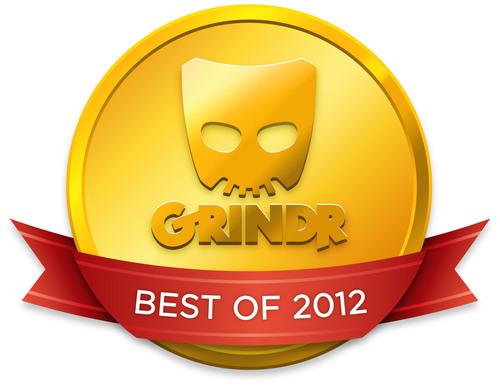 GRINDR BEST OF 2012 LOGO.  (PRNewsFoto/Grindr)