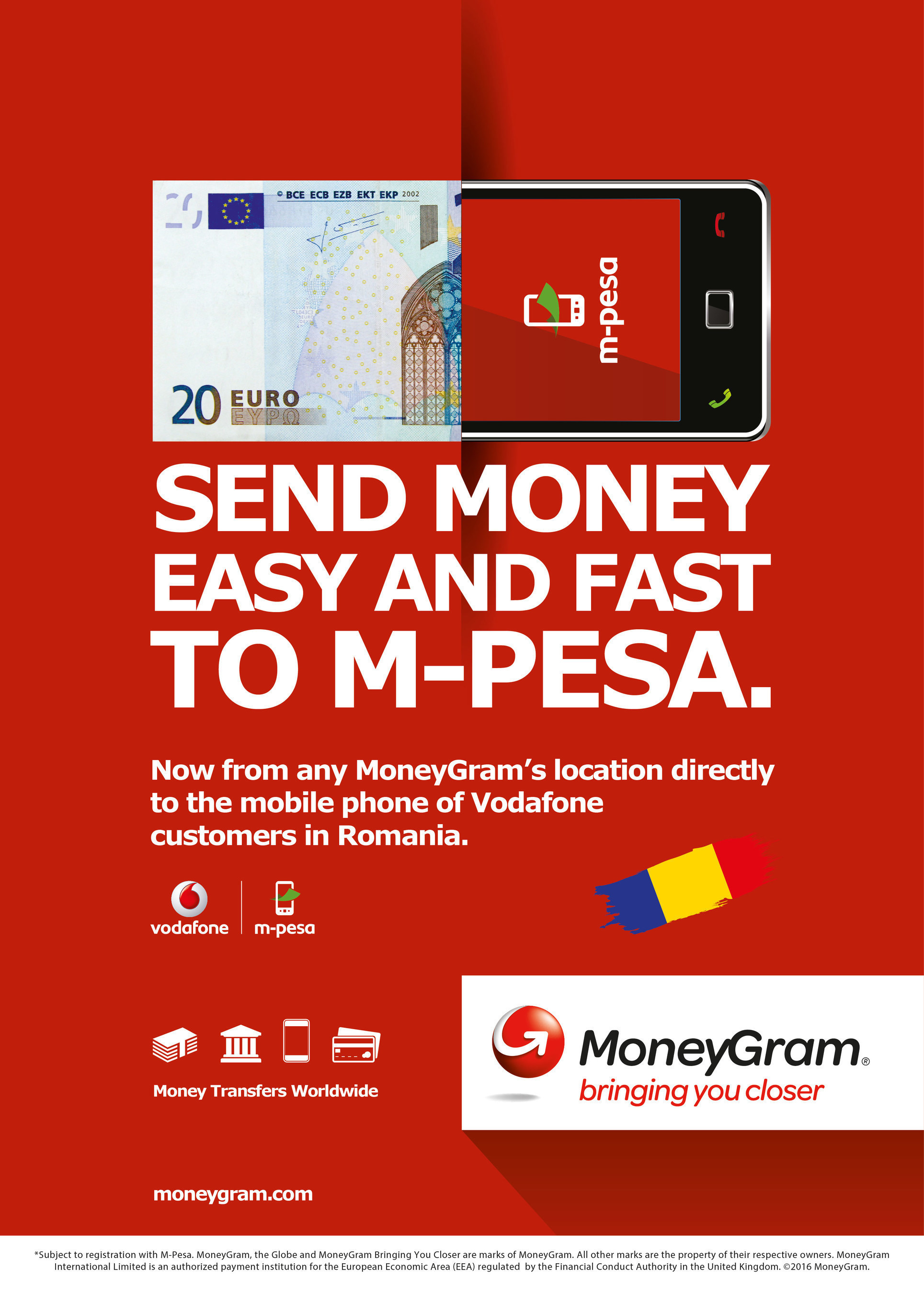 I romeni residenti all'estero usufruiscono del nuovo servizio di trasferimento Cash-to-Mobile