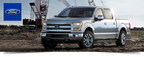 The new 2015 Ford F-150 is revolutionizing the truck segment with a new body design and power options. (PRNewsFoto/Dahl Ford)