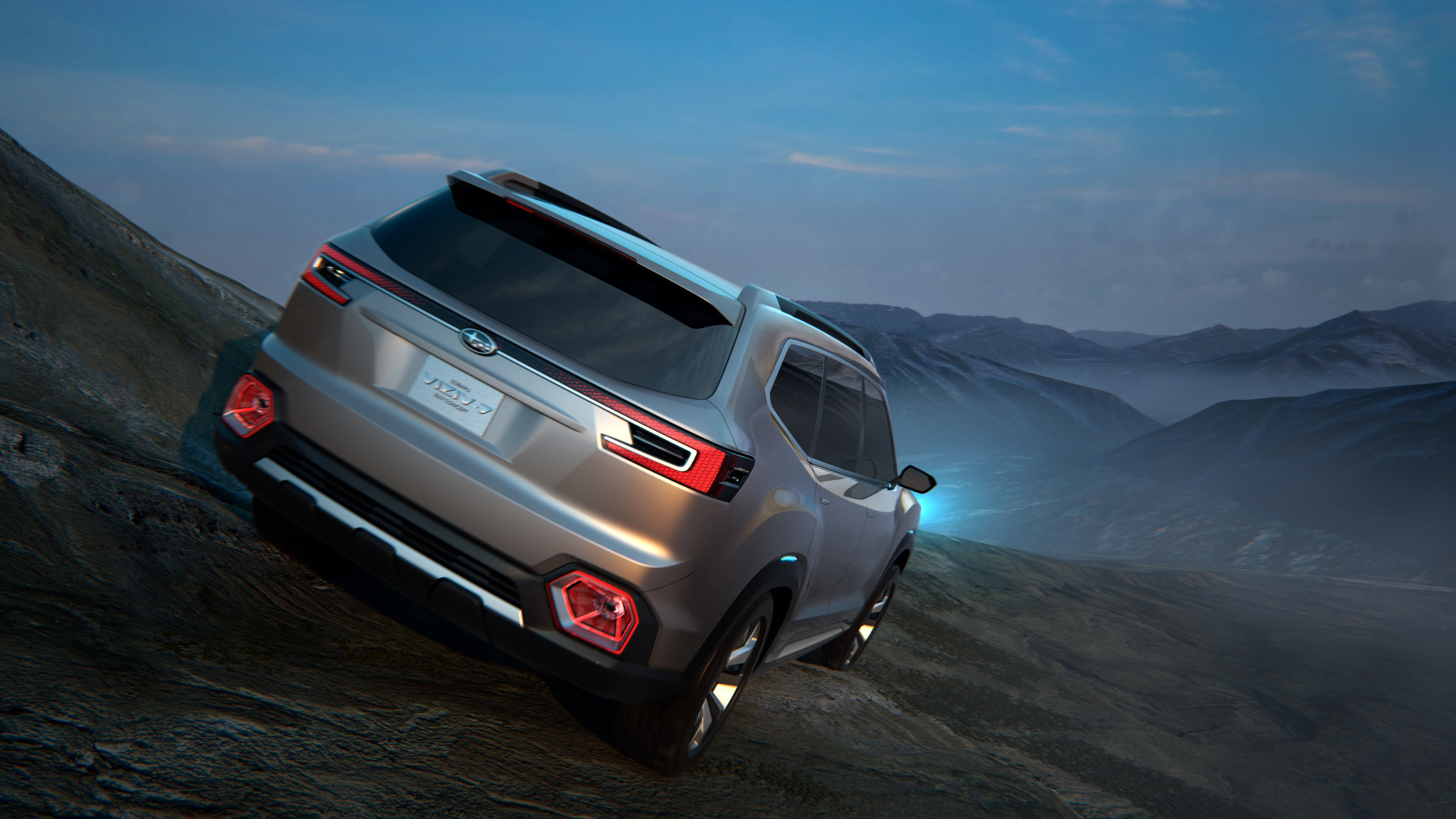 Subaru VIZIV 7 SUV Concept Debut at Los Angeles Auto Show