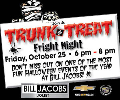 Bill Jacobs Auto Group hosts Trunk or Treat - Fright Night on Friday, Oct. 25 from 6-8 p.m. (PRNewsFoto/Bill Jacobs Automotive Group)