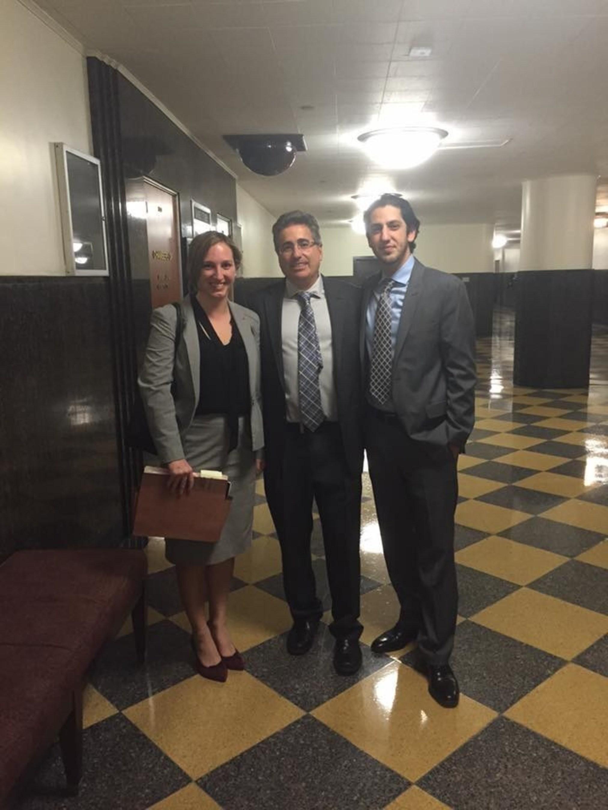 Attorneys for Yowan Yang: Jim DeSimone, Kaveh Navab, and Ryann Hall