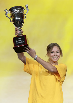 SUBWAY(r) Sandwich Artist(tm) Nitasha Truss, from Tucson, Arizona, was recently crowned the world's fastest sandwich maker by winning the recent 2015 SUBWAY(r) Sub Jammers Championship.