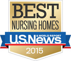 The Goodman Group proudly celebrates our US News & World Report's Best Nursing Homes 2015 ratings.