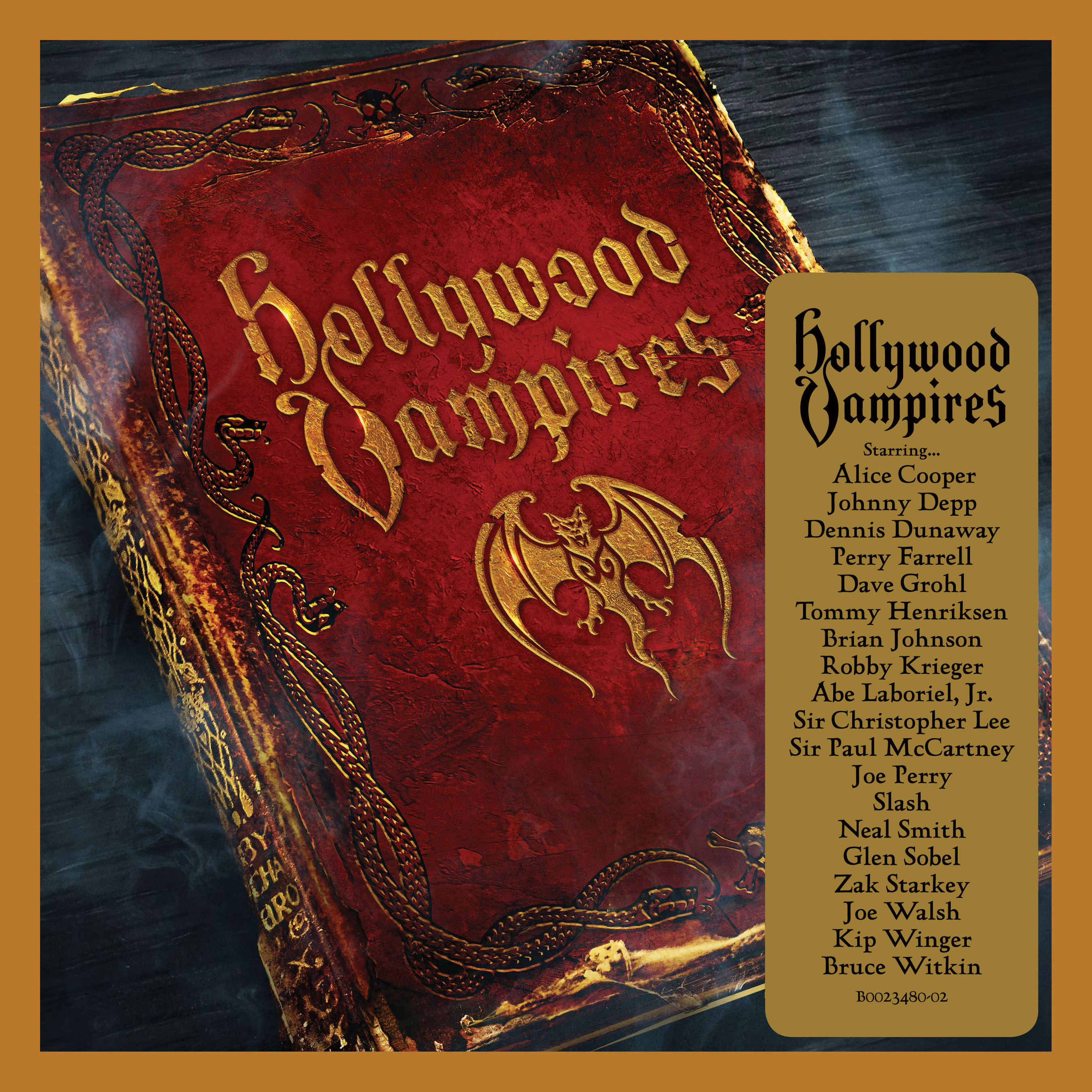 """The Hollywood Vampires Rise Again -Alice Cooper, Johnny Depp, Joe Perry and friends - First Television Debut At The GRAMMY Awards(R), Feb 15 -New Deluxe Digital Album Available Feb 12 Featuring A New Original Track """"Bad As I Am"""" and 2 Previously Unreleased/Bonus Tracks"""